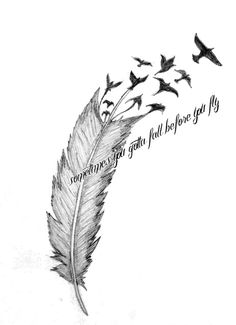 Sleeping With Sirens tattoo. I love this quote and may possibly get this some day.