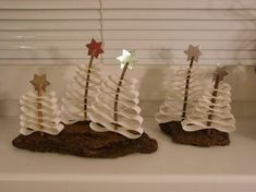 11 best images about tvoření on Clay Ornaments, Paper Clay, Arts And Crafts, Hair Accessories, Place Card Holders, Cards, Winter Ideas, Christmas Trees, Craft Ideas