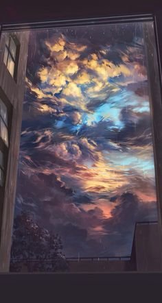 Beautiful sky to drawing clouds Wallpaper World, Cloud Wallpaper, Tumblr Wallpaper, Wallpaper Backgrounds, Vintage Backgrounds, Aesthetic Iphone Wallpaper, Aesthetic Wallpapers, Art And Illustration, Vintage Illustrations