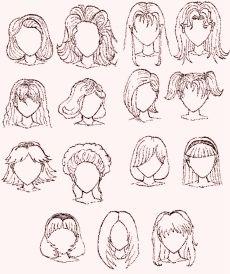Risultati immagini per come disegnare capelli facile