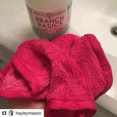 #Repost @hayleymason  This is the @makeuperaser  and it's the most magical thing to ever come into my life. It is so incredibly soft and removes all of your makeup effortlessly with just water! I purchased it on Amazon after seeing @likedallastexas snapping about it. If you are local you can also get one at @dallasbeautylounge . Each night since I got it I remove my makeup and then I hand wash it with @branchbasics hand soap mixture and it comes out perfectly clean! Ps Branch Basics will be…