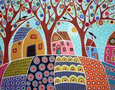 """Casas de colores para """"Mis Abuelos"""" <3"""