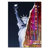Found it at Wayfair - Liberty Night by Philippe Hugonnard Graphic Art on Wrapped Canvas