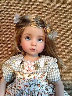 By Nelly Valentino. Start bid is $1,050.00. Ends 4/10/15. Little-Darling-doll-Dianna-Effner-13-Mint-in-Box-Exquisite