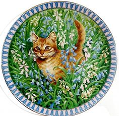 Lesley Anne Ivory Meet My Kittens March Spiro Calender Plate | eBay