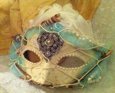 Lady Shipwrecked  Custom Vintage Venetian by MaskedEnchantment, $69.00