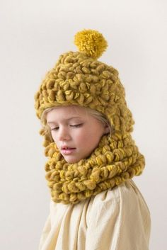 Gorgeous chunky llama kids knits for fall/winter 2015 for Luisa et la Luna