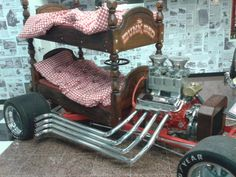 Hot rod bunk bed