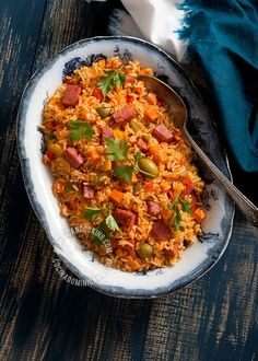 Locrio de Salami Recipe (Rice and Dominican-Style Salami): There are as many recipes as Dominicans, each includes as many ingredients as the budget allows.