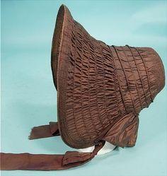 1830s Drawn Bonnet