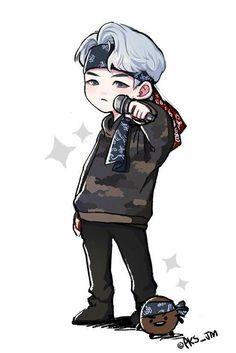suga mic drop fanart ©ͺ© bts fotos, bts drawings Bts Chibi, Min Yoongi Bts, Bts Jungkook, Taehyung, Namjoon, Fanart Bts, Kpop Drawings, Fan Art, Bts Fans