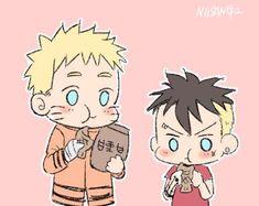Naruto Shippudden, Naruto Comic, Naruto Cute, Cute Anime Wallpaper, Naruto Wallpaper, Akatsuki, Boruto Characters, Uzumaki Family, Familia Uzumaki