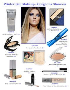 Palladio Beauty makeup look - Gorgeous Glamour!