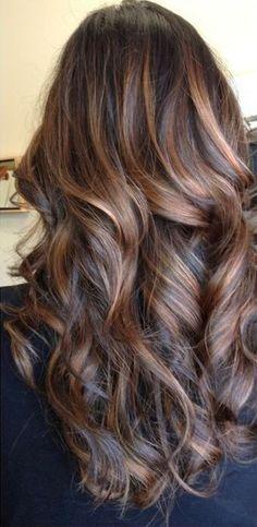 #highlights #brown #hair
