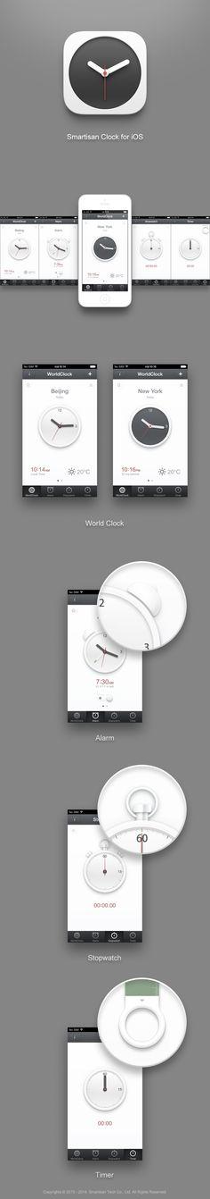 Smartisanos_clock #mobile #ui #design