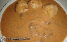 Szalontüdő recept fotóval Cheeseburger Chowder, Soup, Soups, Chowder