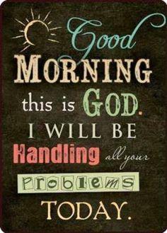 Thank you Heavenly Fathery. Amen.