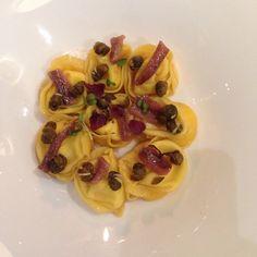 @massimolanza has already tried Borsari36's tortelloni with parmesan, caramelized capers and Cantabric anchovies. Have you?  #borsari36 #verona #foodies #gourmet #palazzovictoria