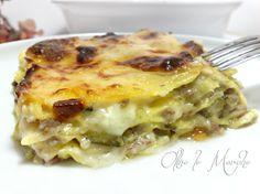 Oggi prepariamo la lasagna asparagi e prosciutto, con gorgonzola e besciamella per renderla ancora più gustosa. Un piatto sfizioso e facile da preparare.