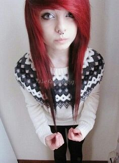 We've gathered our favorite ideas for Red Scene Hair Scene Hairstyles Emo Hair Red Scene, Explore our list of popular images of Red Scene Hair Scene Hairstyles Emo Hair Red Scene in emo girl with orange hair. My Hairstyle, Pretty Hairstyles, Girl Hairstyles, Scene Hairstyles, Amazing Hairstyles, Red Scene Hair, Indie Scene Hair, Emo Scene, Sisterlocks
