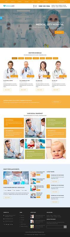 Medical Clinic Hospital Wordpress Theme  Inmedical