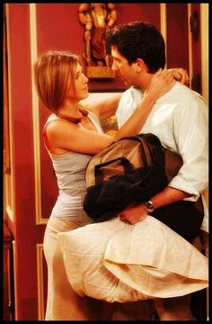 Friends - Rachel  Ross - OMG - just watched this episode last night - one of my favorite!!