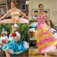 Dear Brides, Remember you will be the one who is judged for putting your best friends in those dresses. Try on at least 27 Dresses before making a decision! Movie Costumes, Cool Costumes, Bridesmaid Dresses, Prom Dresses, Formal Dresses, Crazy Dresses, Bridesmaids, Wedding Dresses, Broadway