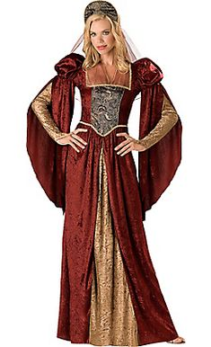 Adult Renaissance Maiden Costume. This reminds me of more of a Queen