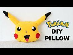 WHERE'S PIKACHU NOW?? DIY Pikachu Pillow | Pokemon Pillow | Fun & Easy…