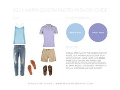 2014 Color trends for the warm season!! What to wear, with outfit inspirations!  www.penguindesigning.com