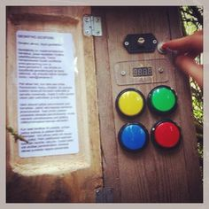 Cool gadget cache in Finland. Via @maasalmi