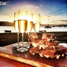Full recipe and photos of Jan Braai's luxurious braaibroodjies (braai sandwiches). As seen on the Knysna episode of Jan Braai vir Erfenis. Cookbook Recipes, Cooking Recipes, Yummy Recipes, Recipies, Braai Recipes, South African Recipes, Food Stall, Cooking On The Grill, Daily Meals