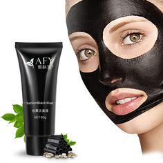 New 1pcs 60ml  Black Mask Deep Cleansing Tearing Blackhead Remover Face Mask Suction Tony Moly Pilaten Bioaqua Korean Cosmetics