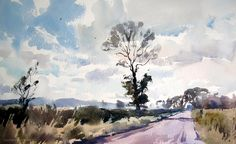 Watercolour Landscaper. In a loosley way