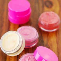 baume pour les lèvres maison