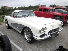 1958 Chevy Corvette Maintenance/restoration of old/vintage vehicles: the material for new cogs/casters/gears/pads could be cast polyamide which I (Cast polyamide) can produce. My contact: tatjana.alic@windowslive.com