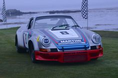 Porsche 911 Carrera RSR Coupe, overall winner of the Targa Florio in 1973 and the GT Class at Le Mans, Vallelunga and Dijon