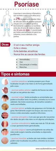Psoríase - Infográficos: sintomas, dicas e o que é psorpiase