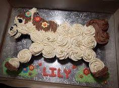 Résultats de recherche d'images pour «horse cupcake cake»