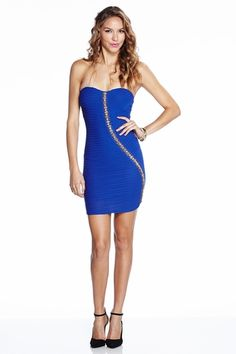 Cocktail Chic Royal Tube Dress only $29.99