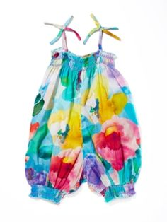 Floral Romper from Sonia Rykiel for Baby & Girls on Gilt