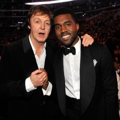 Kanye West & Paul McCartney Making Music Together?