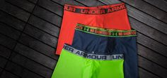 "Under Armour Boxerjock boxer briefs 3"" or 6"" inseam Medium Any color Original or cotton"