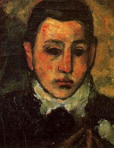 Manoug Adoian ( Armenian-American: 1904 – 1948) - Self Portrait at the Age of Nine, 1928