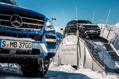 ML Mercedes-Benz snow off-road experience