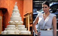 Kim K Wedding Cake