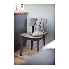 SIGURD Krzesło IKEA Specjalnie wyprofilowane oparcie i siedzisko dla większego komfortu siedzenia.