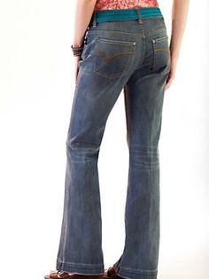 Women's BB Flare Jeans | Sahalie | Yey, flares! My favourite jeans cut :)