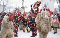 Romania Travel - Fun Things to Do in Romania - Bucket Lists New Years Traditions, Christmas Traditions, Europa Im Winter, Romania People, Merry Christmas Everybody, Danube Delta, Pagan Festivals, Visit Romania, Romania Travel