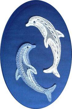 Poole Bobbin Lace Circle - Home Crochet Bird Patterns, Bobbin Lace Patterns, Loom Patterns, Crochet Motif, Crochet Edgings, Crochet Shawl, Hairpin Lace Crochet, Bobbin Lacemaking, Tatting Lace